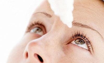 Капли для глаз помогут снять красноту белков