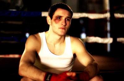 Боксер с синяком