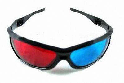 Анаглифные 3д очки для компьютера
