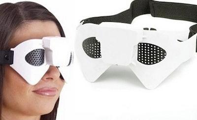 Очки-массажеры для глаз вызывают активизацию обменных процессов в самом глазу