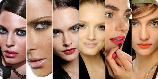 Современный макияж: подбираем изящный цвет помады