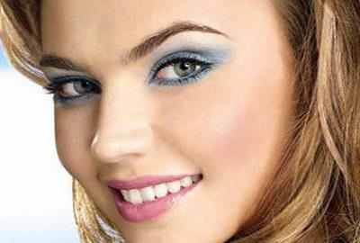 Серые глаза - макияж