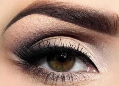 Макияж под карие глаза в зависимости от цвета волос