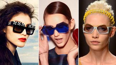 Модные шестиугольные очки