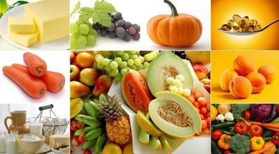 В чем есть витамин А?