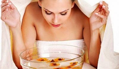 Паровые ванночки для лица: рецепт, принцип действия