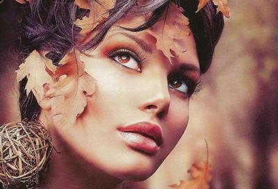 Осенний макияж: помада, блеск, тени, подводка, стрелки