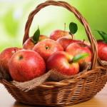Маска для лица из яблок – упасть в небо за звездами