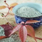 Голубая косметическая глина – цвет силы и долголетия