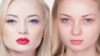 Профессиональный голливудский макияж