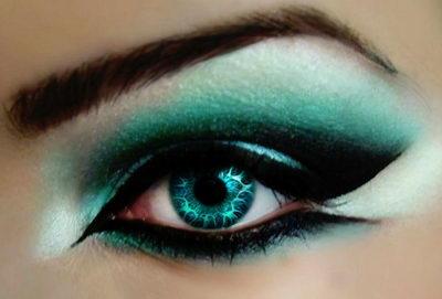 Мейкап глаз: выбор теней, определение формы глаз