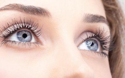 Красивые глаза без воспаления век