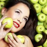 Маски для сухой кожи лица из яблок