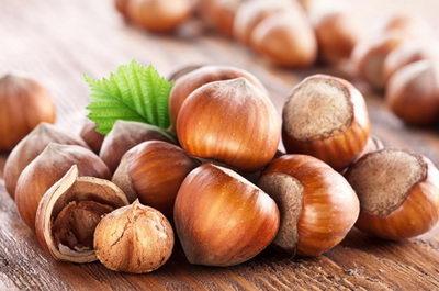 Лесные орехи (фундук)
