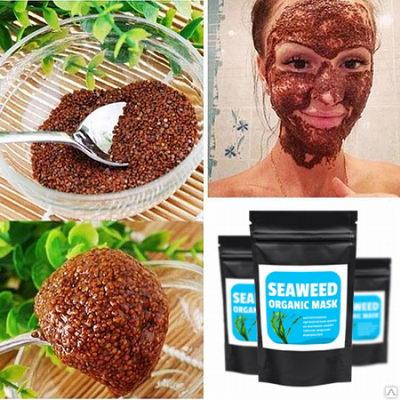 Использование Seaweed Organic Mask
