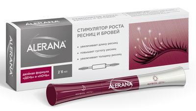 Alerana - стимулятор для роста ресниц и бровей
