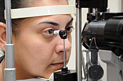 Тонометрия глаза по Гольдману