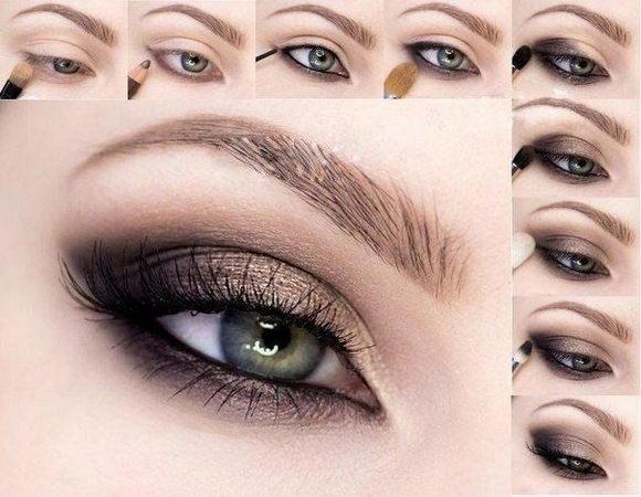 Пошаговый макияж кошачий глаз