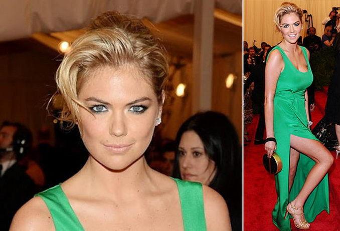 Вечерний макияж к зеленому платью фото
