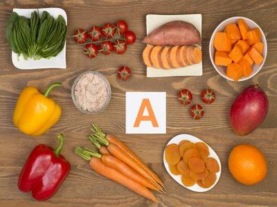 Продукты с витамином А
