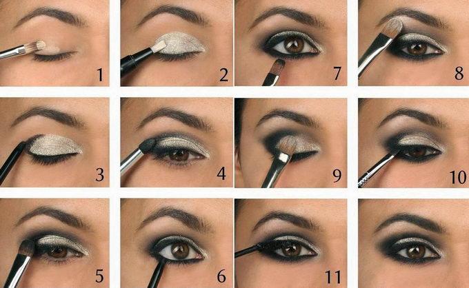 Создание элегантного макияжа