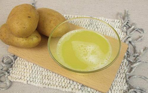 Картофельный сок поможет избавиться от нависших век