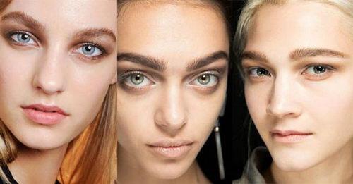 Как выглядят модные брови 2017?
