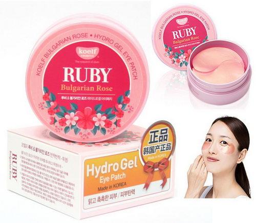 Гидрогелевые патчи для кожи вокруг глаз Ruby Bulgarian Rose