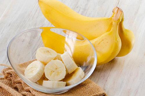 Банановая маска от выпадения бровей