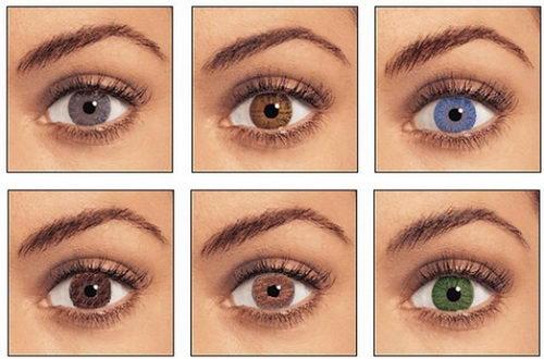 Глаза различных цветов