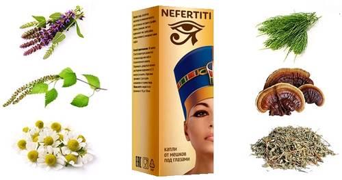 Состав капель Nefertiti