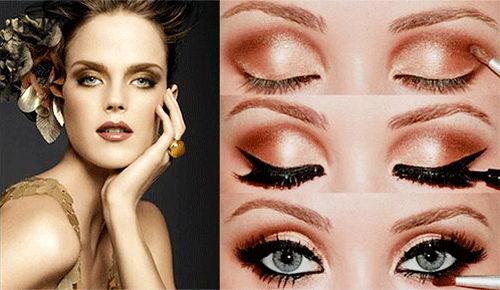 zolotistyy-makeup